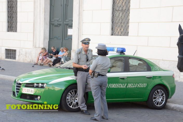 Italië rome hulpdiensten