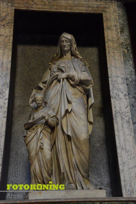 Italië rome kerk beelden