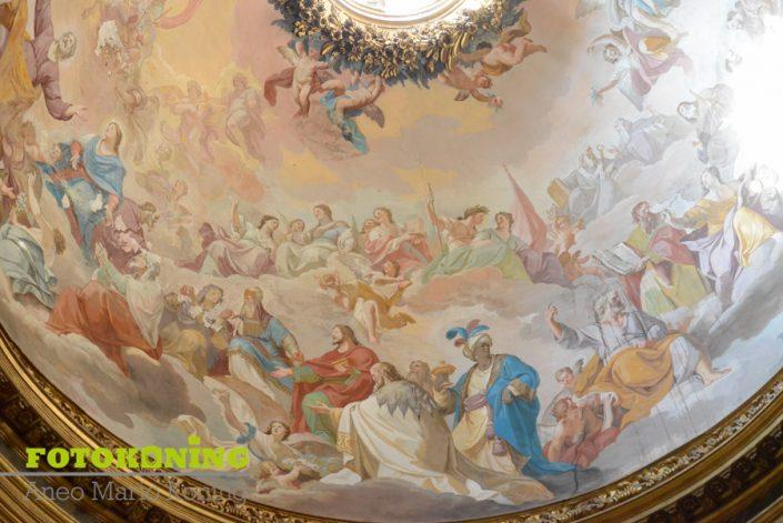 Italië rome kerk beschildering
