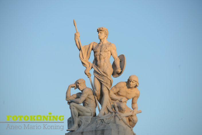 Italië Rome oudheid beelden