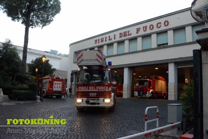 Italië Rome oudheid brandweer