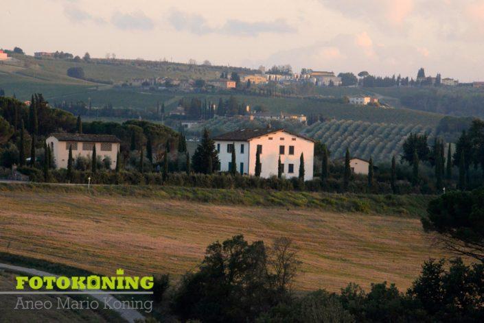 landschap rustplek Italië Toscane