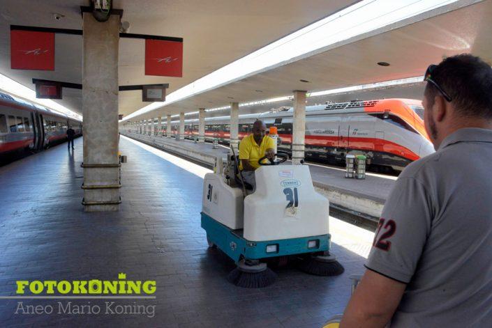 Italië Florence openbaar vervoer schoonmaak