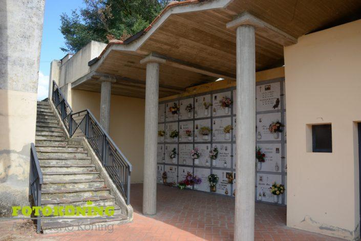 kerkhoflandschap buitengebied Italië Toscane