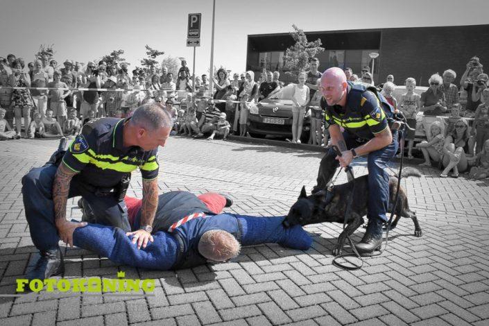 Politiehonden demo bij opendag De Meern