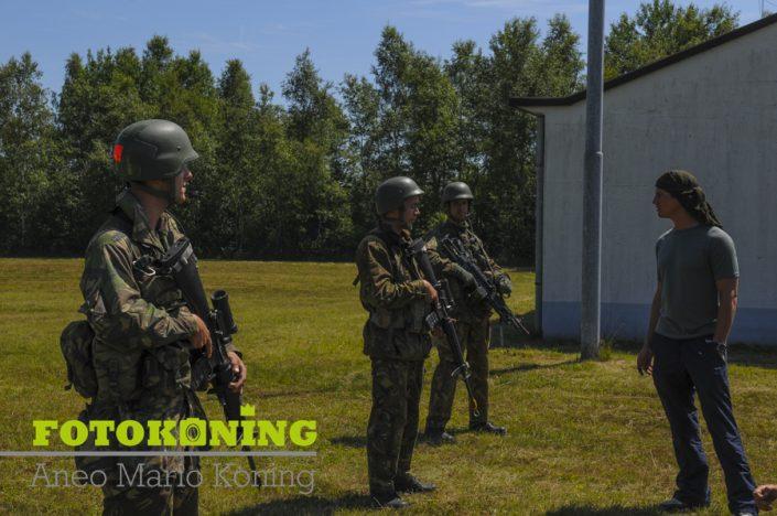 Defensie oefening RED BLAZE