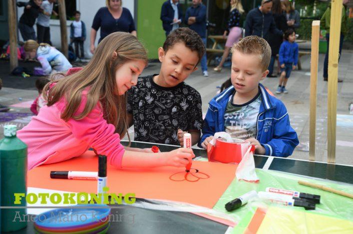 Werkonderbreking van de leerkrachten Daltonschool de Meern
