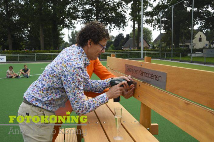 opening van het waterveld van Stichting Kunstgras Accommodatie Tolhuislaan