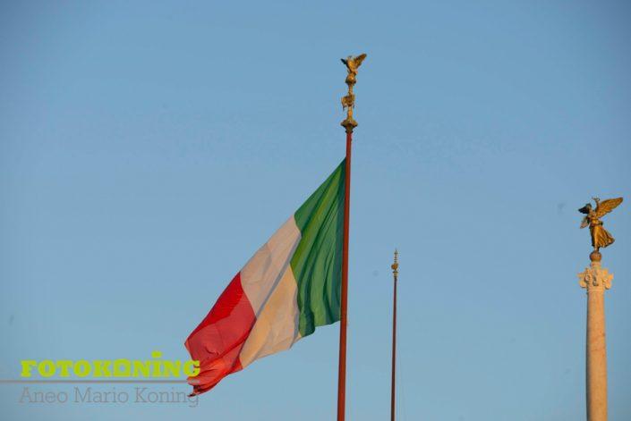 Italië Rome vlag
